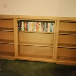 Childs secret bookcase door leading to his den