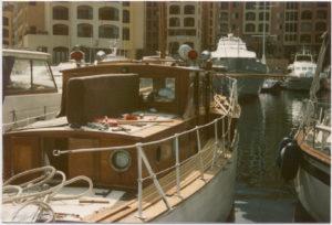 boat deck in monaco