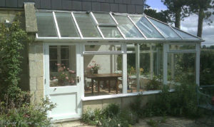 conservatory in wood in bath somerset 2