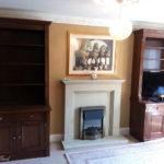 mahogany cabinets 2