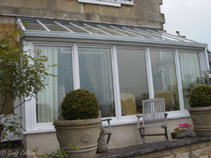 narrow conservatory outside