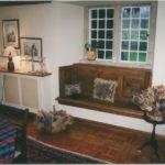 oak window seat