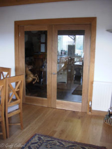pair gllas doors