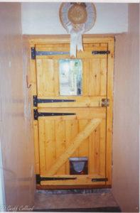 pine stable door
