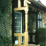 Victorian porch restoration
