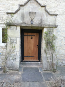 I made this oak door to match the original door that unfortunately had gone beyond repair, fortunately a rare occurrence