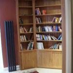 solid oak bookcase - royal crescent