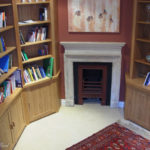 Small small oak library in the Royal Crescent