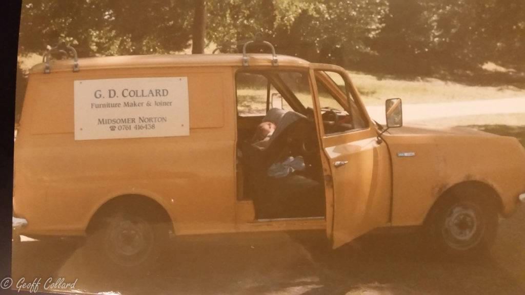 My early HA Van, tried to over take a milk float up Saltford hill but couldn't make it and had to pull back.