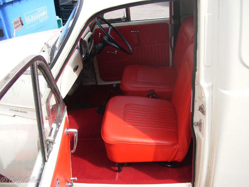 New vinyl seat